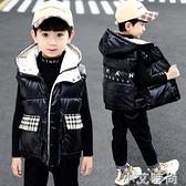 童裝男童馬甲冬裝2020年新款加厚中大童棉坎肩兒童秋冬季外穿背心 小艾新品