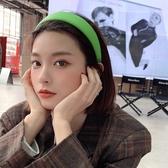 髮箍韓國新款pu皮亮色發箍女百搭外出簡約復古頭箍可愛超仙森系發飾品 雲朵走走