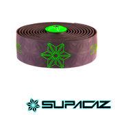 SUPACAZ 美國Super Sticky Kush高性能手把帶 印花系列 黑綠【好動客】
