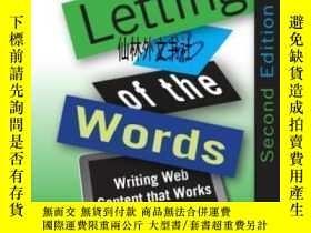 二手書博民逛書店【罕見】2002年出版 Letting Go Of The Words, Second Edition:Writi