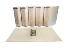 同春 環保合成紙二孔管夾 不含塑化劑 12個/箱 PGF350