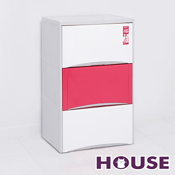 【nicegoods】福氣高昇三層收納置物櫃(40公升3層櫃)(收納櫃 抽屜櫃 衣櫃 塑膠 整理箱)