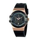 MASERATI WATCH 瑪莎拉蒂手錶 R8851108002 經典大三叉金色款 錶現精品 原廠正貨