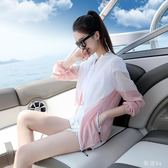 新款短款防曬衣女學生服韓版薄款寬鬆長袖防曬衫外套潮流 js4280『科炫3C』
