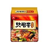 韓國 農心 辣味炒碼麵130g*4包(整袋裝)【小三美日】