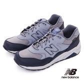 【New Balance】580復古跑鞋 MRT580XF-D 中性  灰(中性尺寸請參照男性尺碼)