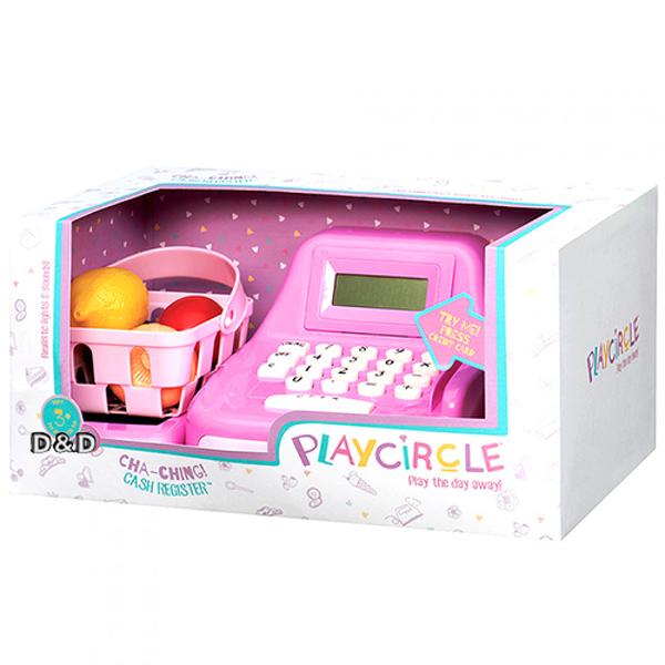 《 美國 B.toys 感統玩具 》露卡電子收銀機(粉)╭★ JOYBUS玩具百貨
