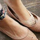 ☆ 莎 LALA【NY368】韓系隱形蕾絲襪-(現貨)矽膠腳底防滑純棉襪子(SIZE約:34-40碼)