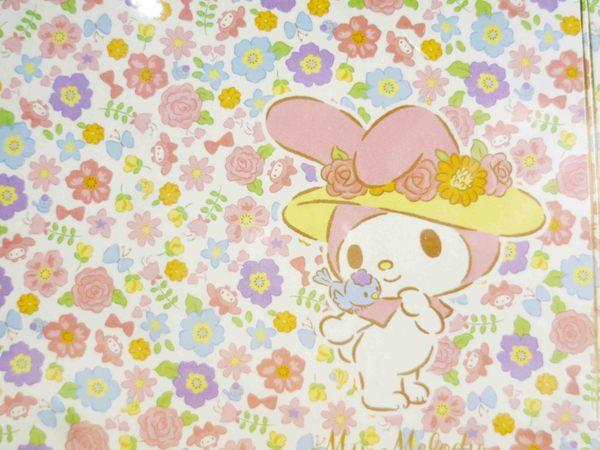 【震撼精品百貨】My Melody 美樂蒂~B6證件套-小花