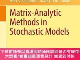 二手書博民逛書店Matrix-analytic罕見Methods In Stochastic ModelsY255174 La
