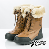 【PolarStar】女防水保暖雪鞋『淺咖啡』P19636 雪地靴.雪鞋.賞雪.滑雪.雪地必備