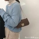 斜背包 流行包包女夏2021新款潮時尚腋下包法國小眾錬條包百搭斜背包 俏girl
