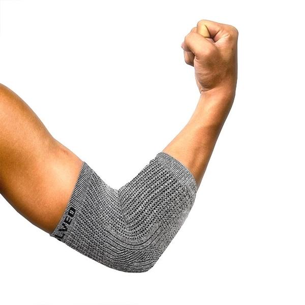 【南紡購物中心】【Vital Salveo 紗比優】防護鍺 護 肘(單支入)(竹炭+鍺/生活防護-台灣製造)