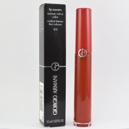 GIORGIO ARMANI(GA) 奢華絲絨訂製唇萃#405 6.5ml《小婷子》