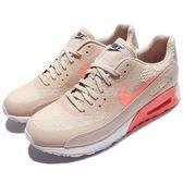 【五折特賣】Nike 休閒慢跑鞋 Wmns Air Max 90 Ultra 米白 粉紅 氣墊 運動鞋 女鞋【PUMP306】 881106-100