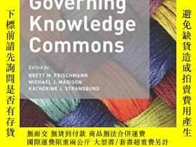 二手書博民逛書店Governing罕見Knowledge CommonsY364682 不祥 Oxford Universit