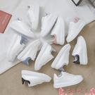 厚底鞋韓版爆款小白鞋女2021新款百搭季板鞋運動休閒厚底ins潮  芊墨 618大促