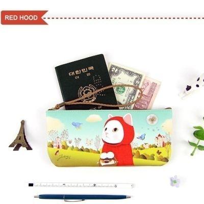 Jetoy,Choo choo甜蜜貓 vanilla 隨身包_Red hood~HappyLife
