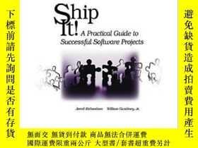 二手書博民逛書店Ship罕見It!Y364682 Jared Richardson Pragmatic Bookshelf
