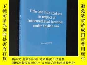 二手書博民逛書店Title罕見and Title Conflicts in re