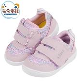 《布布童鞋》日本IFME甜美粉色小碎花寶寶機能學步鞋(12~15公分) [ P1K301G ]