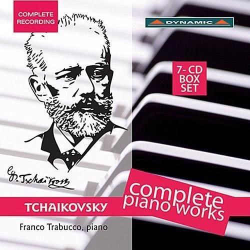 柴可夫斯基:鋼琴獨奏作品全集 CD(7片裝) 鋼琴:塔拉布果 Comple