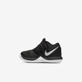 Nike Kyrie 5 TD [AQ2459-901] 小童鞋 籃球 運動 緩震 包覆 透氣 舒適 明星 黑白