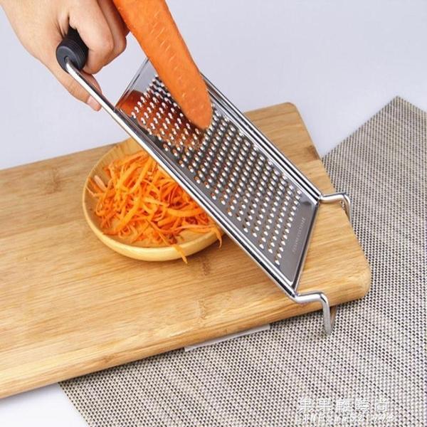 不銹鋼蘿卜刨絲神器多功能擦土豆絲器瓜果粗絲細絲磨泥芝士刨絲器【果果精品】