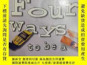 二手書博民逛書店32開英文原版罕見Four ways to be a woman