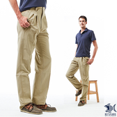 【NST Jeans】菲力卡其 細純棉 打摺休閒褲(中高腰寬版) 005(67343) 早春商品 55折起