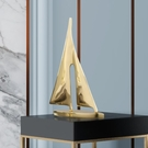 北歐輕奢純銅一帆風順擺件帆船家居工藝品創意酒柜玄關 【618特惠】