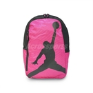 Nike 後背包 Jordan ISO Pack Peach Medium 桃紅 黑 飛人 男女款 【ACS】 8A1911-A5P