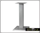 {{ 海中天休閒傢俱廣場 }} C-99 摩登時尚 餐桌腳系列 481-02 單管餐桌腳/烤黑/烤銀高腳