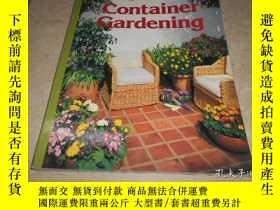 二手書博民逛書店SUNSET罕見CONTAINER GARDENINGY2047
