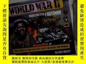 二手書博民逛書店World罕見War II: Fighting for Free