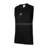 Nike 背心 Jordan Air Training Top 黑 白 男款 喬丹 運動休閒 【ACS】 CU1025-010