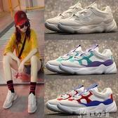運動鞋女韓版原宿學生百搭厚底鞋透氣小白鞋 交換禮物
