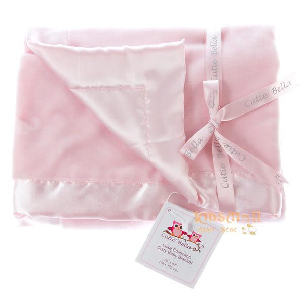 Cutie Bella 超柔軟頂級攜帶毯 - 粉色