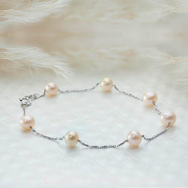 ﹝鑽石屋﹞珍珠手鍊 天然彩珠 粉色珍珠(另有項鍊)