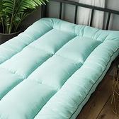 床墊 加厚軟墊大學生宿舍單人0.9×1.9床墊學校上下鋪折疊地鋪睡墊褥子【快速出貨八折鉅惠】
