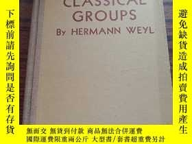 二手書博民逛書店CLASSICAL罕見GROUPS 古典羣Y22108 HERM