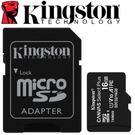 【加】Kingston 金士頓 16GB 16G 100MB/s microSDHC TF UHS-I U1 A1 V10 記憶卡 (SDCS2/16GB)