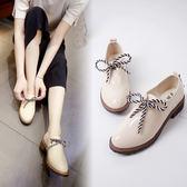 女韓版小皮鞋學院風娃娃鞋平底