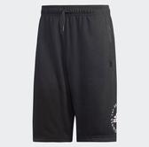 Adidas 男款運動短褲 黑-NO.DT9918