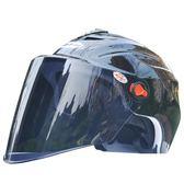 捷凱JK夏盔 電動摩托車頭盔 防護帽半盔騎行機車男女款