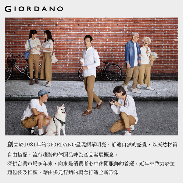 【GIORDANO】男裝STREE LIFE印花T恤 - 01 標誌黑