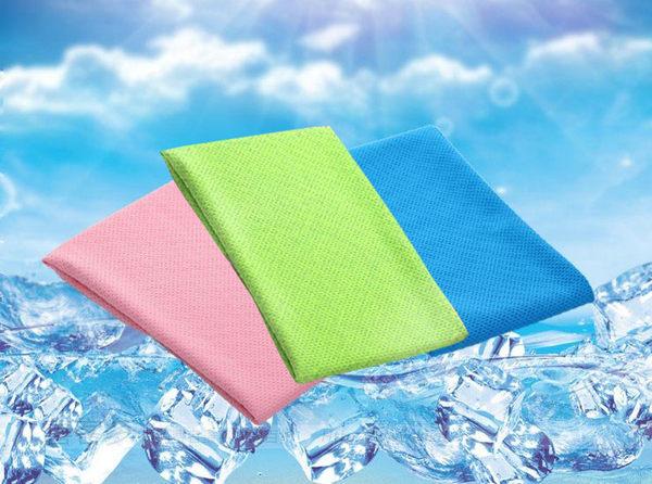 夏日熱銷 寬版73*34cm 瞬間涼感冰涼巾!運動冰巾 冰毛巾頭巾急速降溫消暑 涼感巾 冷感巾《4G手機》