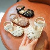 (免運) 寶寶涼鞋1-2一3歲包頭女童夏季軟底學步小公主鞋防滑不掉嬰兒