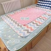 新生嬰兒隔尿墊兒童純棉六層紗布防水可洗透氣夏天防濕隔夜墊床單 璐璐生活館