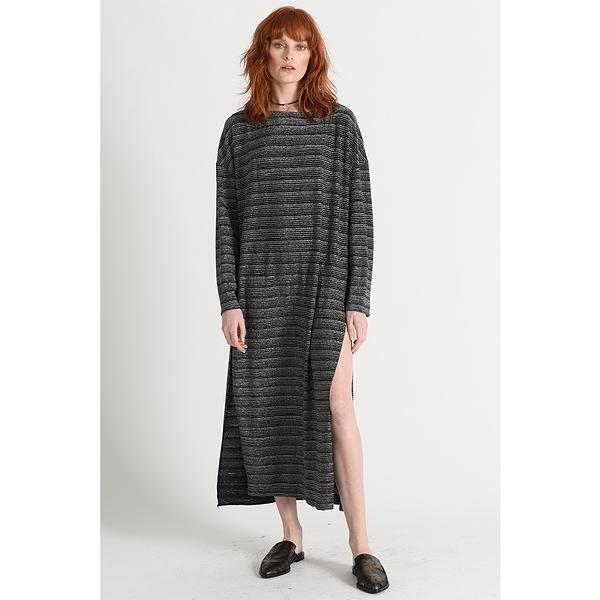 OneTeaspoon 洋裝 PLATINUM TEE SHIRT DRESS-黑(女)5